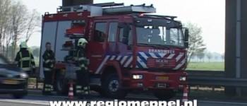 Ongeval A28 knooppunt Lankhorst