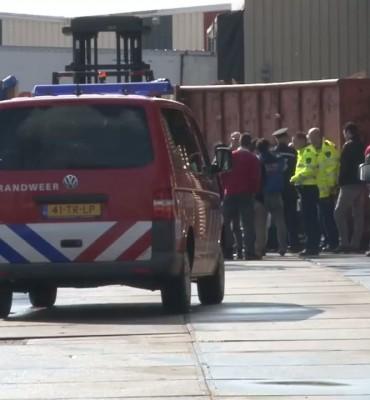 Gewonde bij bedrijfsongeval Oldenburger Fritom in Veendam