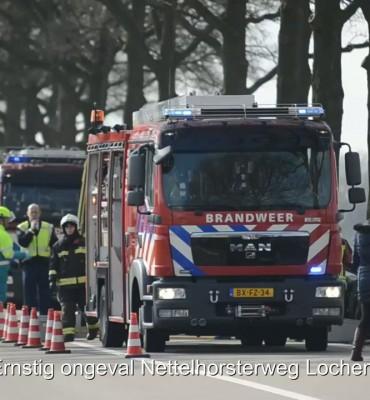Ernstig ongeval Nettelhorsterweg Lochem