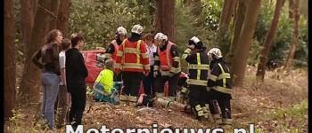 Drie Gewonden na ongeval Hasselerdijk in Ommen