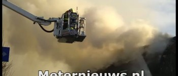 Woonboerderij verwoest door brand in Dalen.
