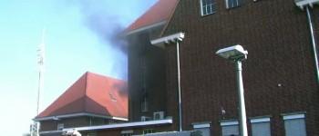 Grote brand in oude postkantoor Winterswijk