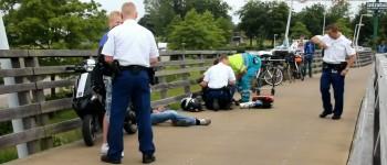 Gewonden bij ongeval scooter en fietser