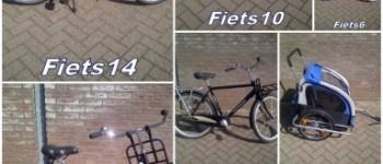 Gezocht – Eigenaren van gestolen fietsen gezocht