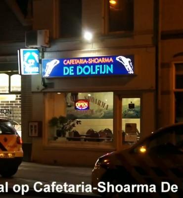Overval op Cafetaria-Shoarma De Dolfijn