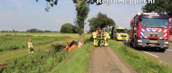 Vier gewonden bij ongeval N333 Scheerwolde