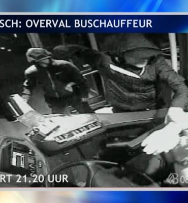 Den Bosch – Gezocht – Gewapende overval op buschauffeur
