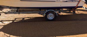 Boot gestolen delen word gewaardeerd