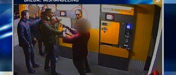 Breda – Gezocht – Man met vloeistof in gezicht bespoten in parkeergarage