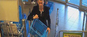 Den Haag – Gezocht – Diefstal uit tas in supermarkt in Den Haag