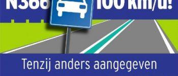 Provincie Groningen – 100 mag op de N366