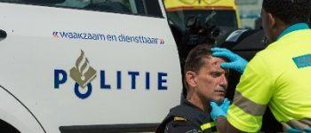 Groningen – Agent gewond aan hoofd bij aanhouding
