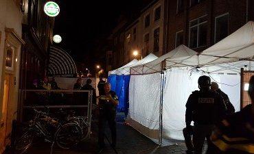 Vlissingen – Politie-inval in café Walstraat