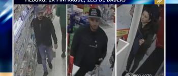 Tilburg – Gezocht – Diefstal bankpas en frauduleus pinnen