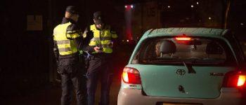 Rotterdam – 19 automobilisten in de fout bij alcoholcontrole Erasmusbrug