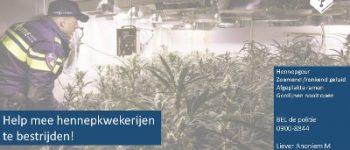 Aalten – Politie houdt zevental aan voor illegale hennepteelt