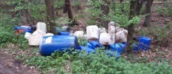 Ulvenhout / Strijbeek / Galder – Opnieuw drugsafval gedumpt in Brabant