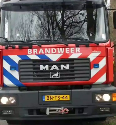 Brand in boerderij aan de Stroovledder Dwingeloo