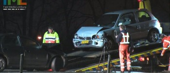 Trippel Ongeval A2 Gronsveld (05-01-2012)