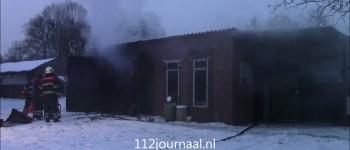 Schuur in Zeeland afgebrand