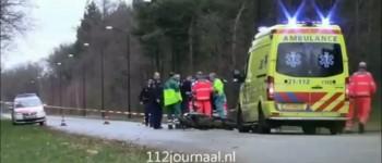 Twee gewonden bij ernstig ongeval, De Louwstraat Schaijk