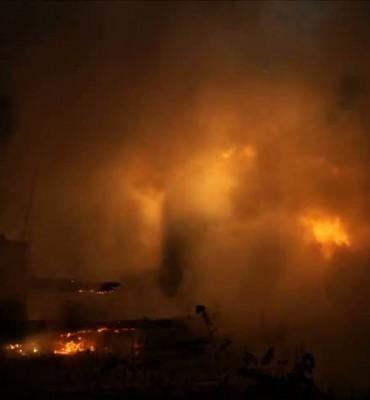 Berucht SM-huisje op recreatiepark door brand verwoest