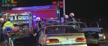 Twee Gewonden bij Ongeval Beknelling op Bornerweg in Limbricht 29-03-2013