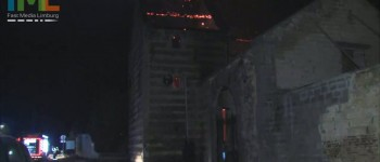 Grote brand verwoest monumentale hoeve Hoeve Caestert in Kanne (B)