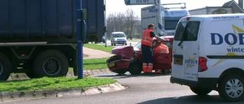 Vrachtwagen ramt personenauto bestuurster raakt gewond Varsseveld