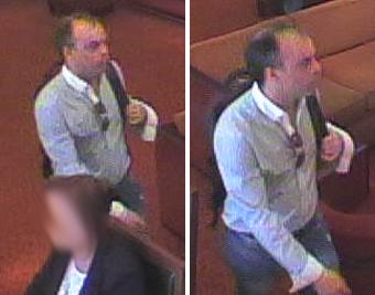 Gezocht – Man steelt portemonnee uit lobby hotel Krasnapolsky