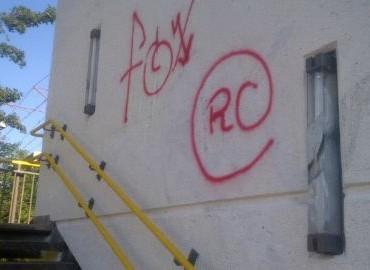 Gezocht – Vandalisme door spuiten graffiti op route door Nieuwegein
