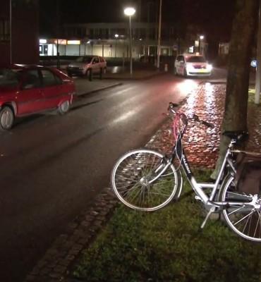 Fietser geschept op de Hoofdstraat in Hoogezand