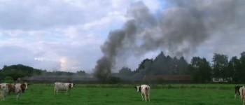 Uitslaande brand in lege kippenschuur Aalten