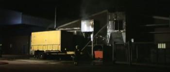 Brand in afzuiginstallatie Honicel Zelhem