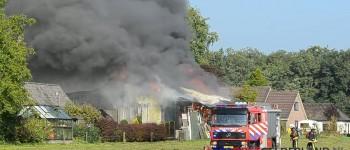 Grote brand in meubelloods Almen