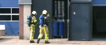 Twee soorten afval zorgt voor chemische reactie bij spuiterij in Lichtenvoorde