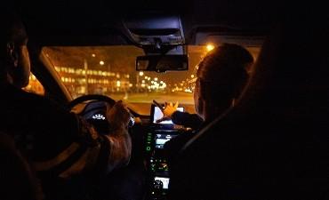 Pernis – Groot aantal hardrijders bekeurd bij wegwerkzaamheden A15