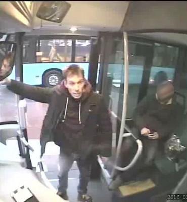 Wageningen – Gezocht – Bedreiging buschauffeuse
