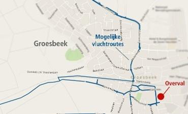 Groesbeek – Politie vraagt uw hulp bij onderzoek naar overval op geldloper