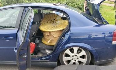 Breda, Eindhoven – Drie Roemenen gepakt met 1000 kilo gestolen koper