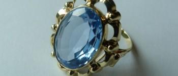 Gezocht – Eigenaar ring met blauwe steen gezocht