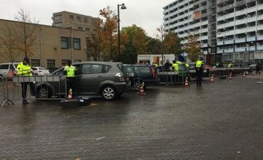 Amsterdam Zuidoost – Kluis gedumpt voor verkeerscontrole