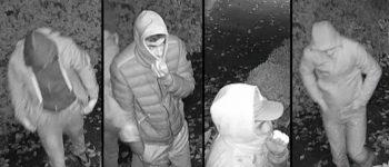 Waddinxveen – Gezocht – Vier verdachten in beeld bij woninginbraak Waddinxveen