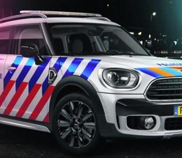 Stoere Mini Voor de Politie
