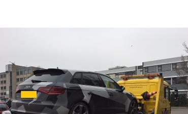 Bergen op Zoom – Auto afgepakt in verband met witwaspraktijken