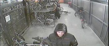 Best, NS fietsenstalling Spoorstraat – Gezocht – Herkent u deze fietsendief?
