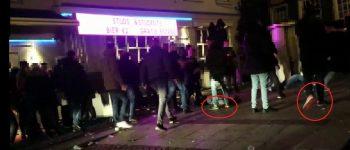 Den Bosch – Gezocht – Wie zijn deze geweldplegers in de Karrenstraat?