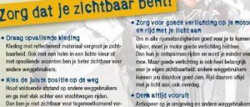 Heerenveen / Slappeterp – Twee motorrijders gewond bij eenzijdige ongevallen
