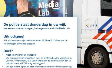 Leiden Amstelveen Amsterdam – Mobile Media Lab ingezet in Leiden ivm ontvoering