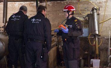 Eindhoven – Drie arrestaties vanwege verdenking productie harddrugs